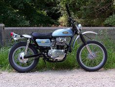 🏁 caferacerpasion.com 🏁 Yamaha XS650 1975 #Scrambler -The 520 Chain Cafe…