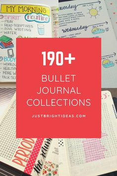 The super fun part of your bujo is the trackers and collections! Choose from our HUGE list of bullet journal ideas 2020. So many things to track in your bullet journal you might not have thought of! Bullet Journal Tracking, Cover Pages, Journal Ideas, Bujo, Spirit, Collections, Writing, Thoughts, Reading