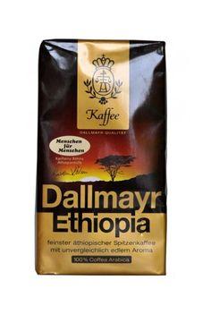 KAWA DALLMAYR Ethiopia 500gziarnista • 100 % arabika • pobudza i dodaje energii • lekko pikantny smak • doceniana przez koneserów na całym świecie