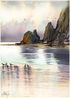 Resultat d'imatges de thomas w schaller watercolor artist