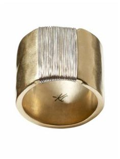 Kenneth Cole New York Metal Wrapped Ring