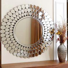 Abbyson Living Reagan Round Wall Mirror - Mirrors at Hayneedle