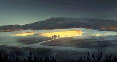 Lascaux IV Cave Painting Centre by Snøhetta, Duncan Lewis and Casson Mann
