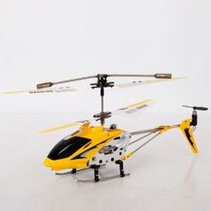 S107G 3CH 3-Channel RC R/C Radio Remote Control Controlled S107 Metal Helicopter 3 Channel with Gyro Heli Yellow by Crazy Cart. $28.85. Features: 1.New and high quality 2.Suitable for children of 14 years old 3.You can use USB cable to charge the helicopter 4.Hover up and down 5.Turn counter clockwise and clockwise 6.Forward and backward 7.Turn left and turn right 8.With Gyroscope inside  Specifications: 1.Model: S107G 2.Channel: 3 3.Control Mode: Infra-Red Remot...