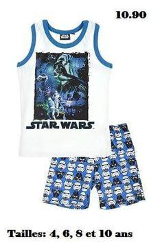 Pyjama garçons été neuf et certifié Star Wars