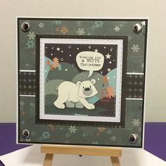 Cutie Polar Bear, Marianne Designs