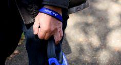 "Hand strap for ""Free Walker"" Blue / 伸縮リード用ストラップ 青"