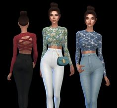 Ambient Top at Leo Sims Sims 4 Mods, My Sims, Sims 4 Cc Packs, Sims 4 Clothing, Sims 4 Update, Sims Resource, Sims 4 Custom Content, Fashion Art, Leo