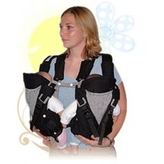 "SOLD OUT - ""Maxi Mom"" Twin Carrier in Navy"
