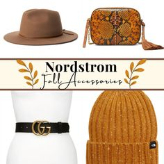 The best accessories to upgrade your Fall wardrobe! #fallfashion #nordstrom