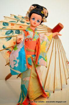 Japanese Susi Estrela Doll, 1971. (Boneca Susi Japonesa de 1971). #susi #doll #estrela #boneca