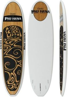 Combining art and function into a single paddle board, the Pau Hana Oahu has a spooned-out nose, wide tail and full rails, making it an excellent all-around board for the ocean, river, or lake. Available at REI, 100% Satisfaction Guaranteed.