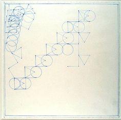 Zonder titel, Peter Struycken, 04-04-1973 | Museum Boijmans Van Beuningen