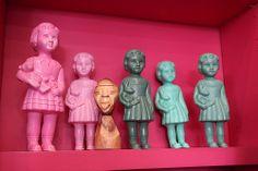 Clonette dolls at Antoine et Lili boutique, Montmartre, Paris.