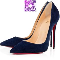 Women Pumps - Christian Louboutin Online Boutique (11,110 MXN) ❤ liked on Polyvore featuring shoes, pumps, christian louboutin, louboutin, heels, christian louboutin shoes, heel pump, velour shoes and christian louboutin pumps
