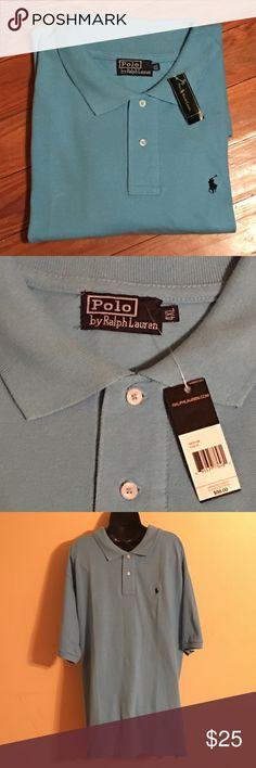 Men's Ralph Lauren polo NWT size 4XL New condition, size 4XL, color is baby blue Ralph Lauren Shirts Polos