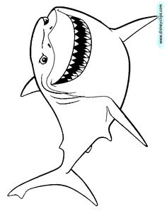 Disney Pixar Finding Nemo Coloring Pages | Disney Coloring Book