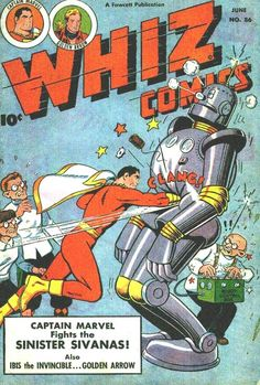 Whiz Comics #86, June 1947, cover by C.C. Beck
