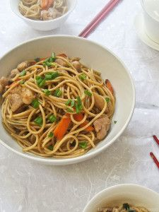 Doctor Jacq's Pre-Game Chicken Chow Mein - Dr Jacq I'm going to try this but sub. with rice noodles to make it GF for our fam.