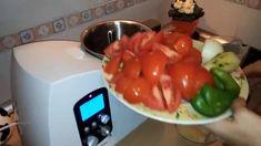 Receta de Gazpacho Andaluz Monsieur Cuisine Lidl Español