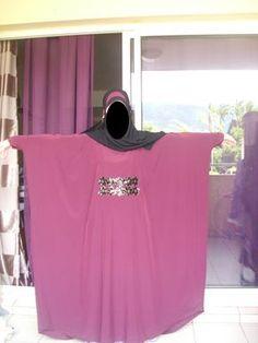 tuto(patron) d'une abaya papillon