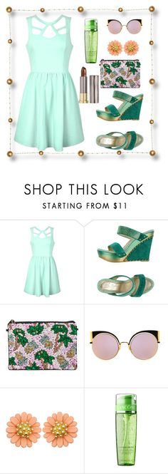 """Untitled #536"" by pesanjsp ❤ liked on Polyvore featuring Ally Fashion, From St Xavier, Fendi and Urban Decay"
