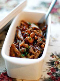 【ELLE a table】大豆とごぼうのバルサミコ煮レシピ|エル・オンライン