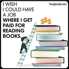 I'm sure this job exist somewhere. . . right ? But it isn't in a library. Honest!