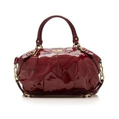 Versace Burgundy Patent Leather Shoulder Bag Ng Pinterest Bags And
