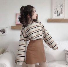 ulzzang fashion New Fashion Korean Shoes Ulzzang 68 Ideas Teen Fashion Outfits, Mode Outfits, Cute Fashion, Skirt Fashion, Trendy Fashion, Girl Outfits, Fashion Fashion, Fashion Ideas, Fashion Styles