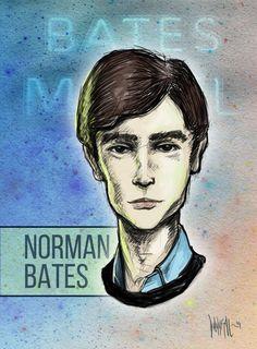 Norman Bates from Bates Motel