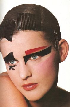 Vogue US 1997 August  Makeup by Linda Cantello  Photographed by Irving Penn  Model - Stella Tennant