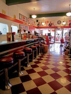 Vintage Motel, Drive In Resto, Retro Bowling, Soda Fountain, Art ...