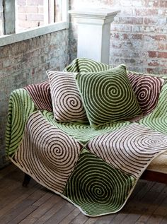 FIFIA CROCHETA blog de crochê : manta de crochê espiral linda