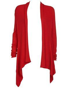 Soaked in Luxury neuletakki, musta ja punainen €. Stage, Luxury, Sweaters, Fashion, Moda, La Mode, Sweater, Fasion