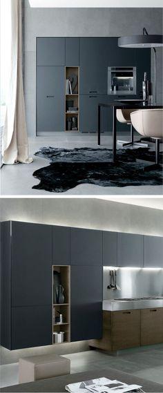 Zwart is de modekleur, maar ik vind deze tint grijs/blauw veel mooier!