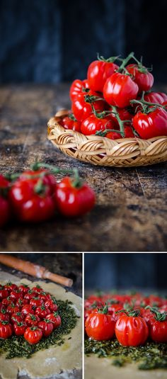 Wholemeal Tomato Galette with Pesto and Ricotta   Chew Town Food Blog