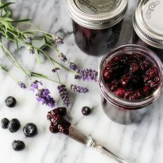 Fruit & Flowers: Blueberry Lavender Jam