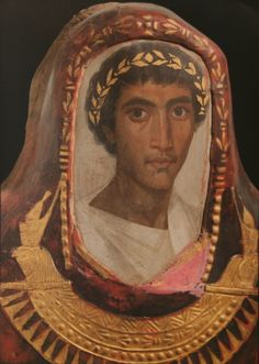 Fayum mummy portraits is the name given to a large number of paintings from the first to third century. The surviving paintings are predominantly from the Fayum region in Roman Egypt