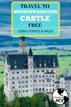 Learn Points and Miles Travel to Germany! Best Places To Travel, Places To Visit, Vacation Destinations, Vacations, Hollywood Homes, Neuschwanstein Castle, Historic Properties, Beautiful Castles, Travel Information