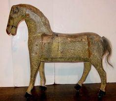 American folk art horse