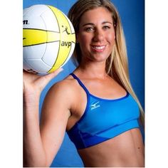 April Ross - American beach-volleyball player .
