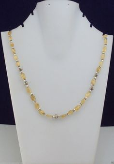 21 gram marvelous CITRINE BEADED handmade necklace