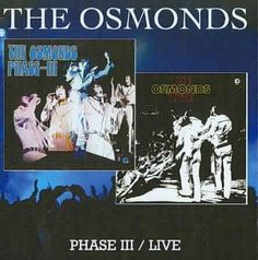 Personnel: Alan Osmond (vocals, guitar); Donny Osmond (vocals, organ); Jay Osmond (vocals, drums); Merrill Osmond, Wayne Osmond, Jimmy Osmond (vocals). Liner Note Author: Phil Hendriks. Recording info
