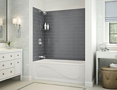 Vichy A Alcove bathtub   MAAX Professional brand  A qualitative and  practical Professional product for your bathroom projects   This  comtemporary design  EXHIBIT  IFS  Alcove bathtub   MAAX Professional   simple apron  . Maax Avenue Bathtub Installation Instructions. Home Design Ideas