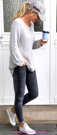 Superior Casual Fall Outfits You have to Cop This Week. casual fall outfits for teens Fashion Mode, Look Fashion, Teen Fashion, Fashion Outfits, Womens Fashion, Ladies Fashion, Fashion Shops, Fashion Fall, Fashion Clothes
