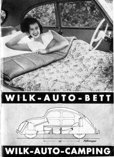 Wilk - Auto Bett - VW Käfer Camping -Katalog -www.de - Breno Junior - - Wilk - Auto Bett - VW Käfer Camping -Katalog -www. Auto Camping, Vw Bus, Van Vw, Citroen Ds, Bus Girl, Vw Classic, Vw Vintage, Vw Beetles, Classic Cars