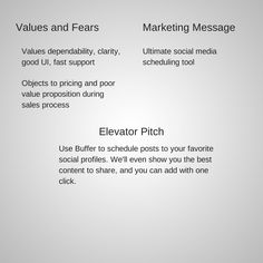 elevator pitch template The Beginner's Guide to Creating Marketing Personas Digital Marketing Strategy, Online Marketing, Persona Examples, Customer Persona, Social Media Analytics, World Data, Sales Process, What To Sell, Competitor Analysis