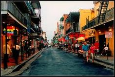I love New Orleans for the food, the iron work, the gated quaint outdoor patio dining, and the music. It seems like it's a city that's always celebrating something.