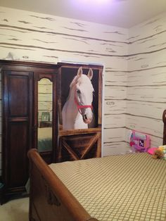 Horse Barn Room painted by Avtrella Design
